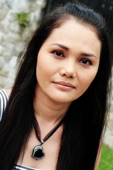 Free Asian Face Royalty Free Stock Photos - 5378888