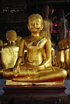Free Thailand Bangkok Wat Rachanada Stock Images - 5378974