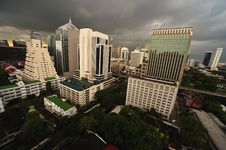 Thailand View Of The City Of Bangkok Royalty Free Stock Photography