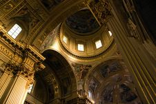 Free Church Interior Royalty Free Stock Photography - 5379437
