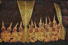 Free Thailand Bangkok Wat Saket Royalty Free Stock Image - 5379516