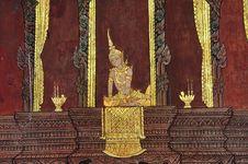 Free Thailand Bangkok Wat Saket Royalty Free Stock Image - 5379556