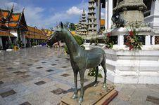 Free Thailand Bangkok Wat Suthat Royalty Free Stock Photos - 5379818
