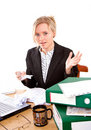 Free Businesswoman In Office Stock Images - 5386744