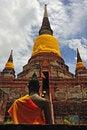 Free Thailand Ayutthaya Wat Yai Chai Mongkhon Royalty Free Stock Photography - 5386977
