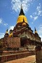 Free Thailand Ayutthaya Wat Yai Chai Mongkhon Royalty Free Stock Images - 5388259