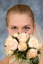 Free Girl With A Bouquet Royalty Free Stock Image - 5389856