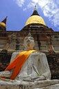 Free Thailand Ayutthaya Wat Yai Chai Mongkhon Royalty Free Stock Photo - 5389915