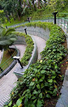 Free Curve Pathway Stock Image - 5380161