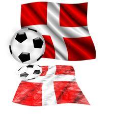 Free Football Switzerland Flag Royalty Free Stock Image - 5380306