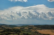 Free Val D  Orcia Royalty Free Stock Photos - 5380988