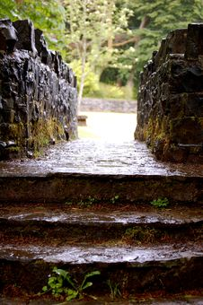 Free Stone Walkway Stock Photography - 5381462