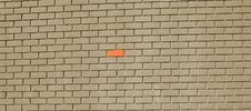 Free Gray Brick Wall Stock Images - 5381634