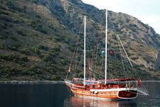 Free Brown Sailing Boat Stock Photos - 5381823