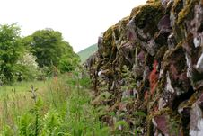Free Dry Stone Wall Royalty Free Stock Image - 5382276
