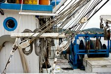 Free On Deck Of A Trawler Royalty Free Stock Photo - 5382465