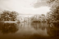 Free The Infrared Dreamy Scenery Stock Images - 5383344