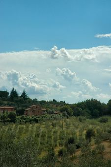 Free Val D  Orcia Royalty Free Stock Photos - 5383438