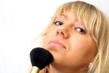 Free Brush Women Stock Photography - 5383572