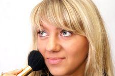 Free Brushing Women Royalty Free Stock Photo - 5383575