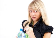 Free Water And Women Stock Images - 5383584