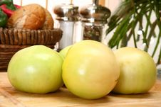 Green Tomatoes Royalty Free Stock Images