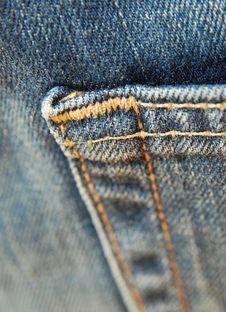 Free Jean Pocket Stock Image - 5384191
