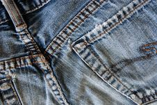 Free Faded Jeans Stock Images - 5384324
