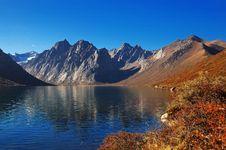 Free Beautiful Lake And Mountain Royalty Free Stock Photo - 5384575