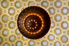Old Fashion Chandelier Stock Images