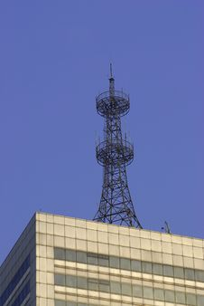 Free Communication Tower Royalty Free Stock Photos - 5384778