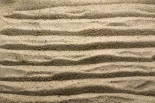 Free Sand Pattern Stock Photography - 5384992