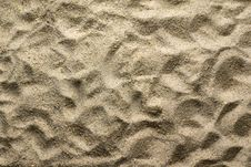 Free Sand Pattern Royalty Free Stock Images - 5385029