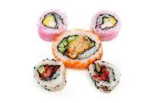 Free Japanese Sushi Rolls Stock Photo - 5385270