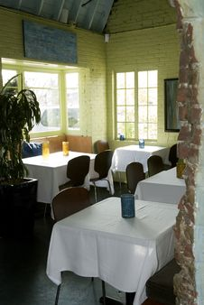 Rustic Dining Room Stock Image