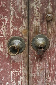 Free Old Door Royalty Free Stock Photography - 5386177