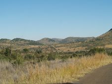 Scenic View Of Pilansberg Nature Reaserve Stock Images