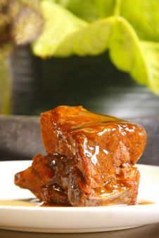 Free Pork Stew Stock Image - 5386501
