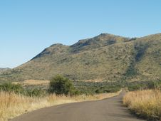 Scenic View Of Pilansberg Nature Reaserve Royalty Free Stock Photos