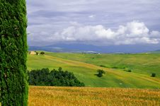 Free Tuscany Natural Framed Landsca Stock Photography - 5386682
