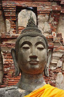 Free Thailand Ayutthaya Wat Phra Mahathat Royalty Free Stock Photography - 5386837