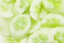 Free Cucumber Slices Stock Images - 5387594