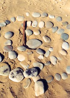 Free Circle Of Rocks Royalty Free Stock Photos - 5387728