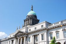 Free Custom House Dublin 2 Royalty Free Stock Image - 5387906