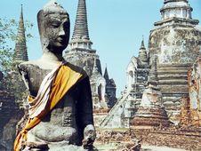 Free Ayudhaya Thailand Royalty Free Stock Photos - 5388308