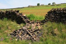 Free Collapsed Dry Stone Wall Stock Photos - 5388583