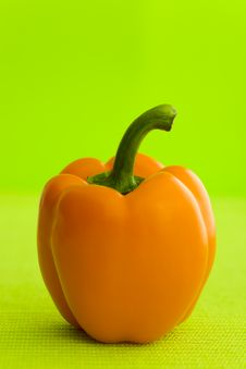 Free Orange Pepper Stock Images - 5389044