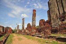 Free Thailand Ayutthaya Phra Sri Sanphet Stock Photo - 5389070