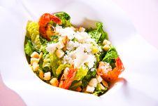 Free Shrimps Salad Stock Photo - 5389290