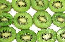 Kiwi Slices Stock Photography